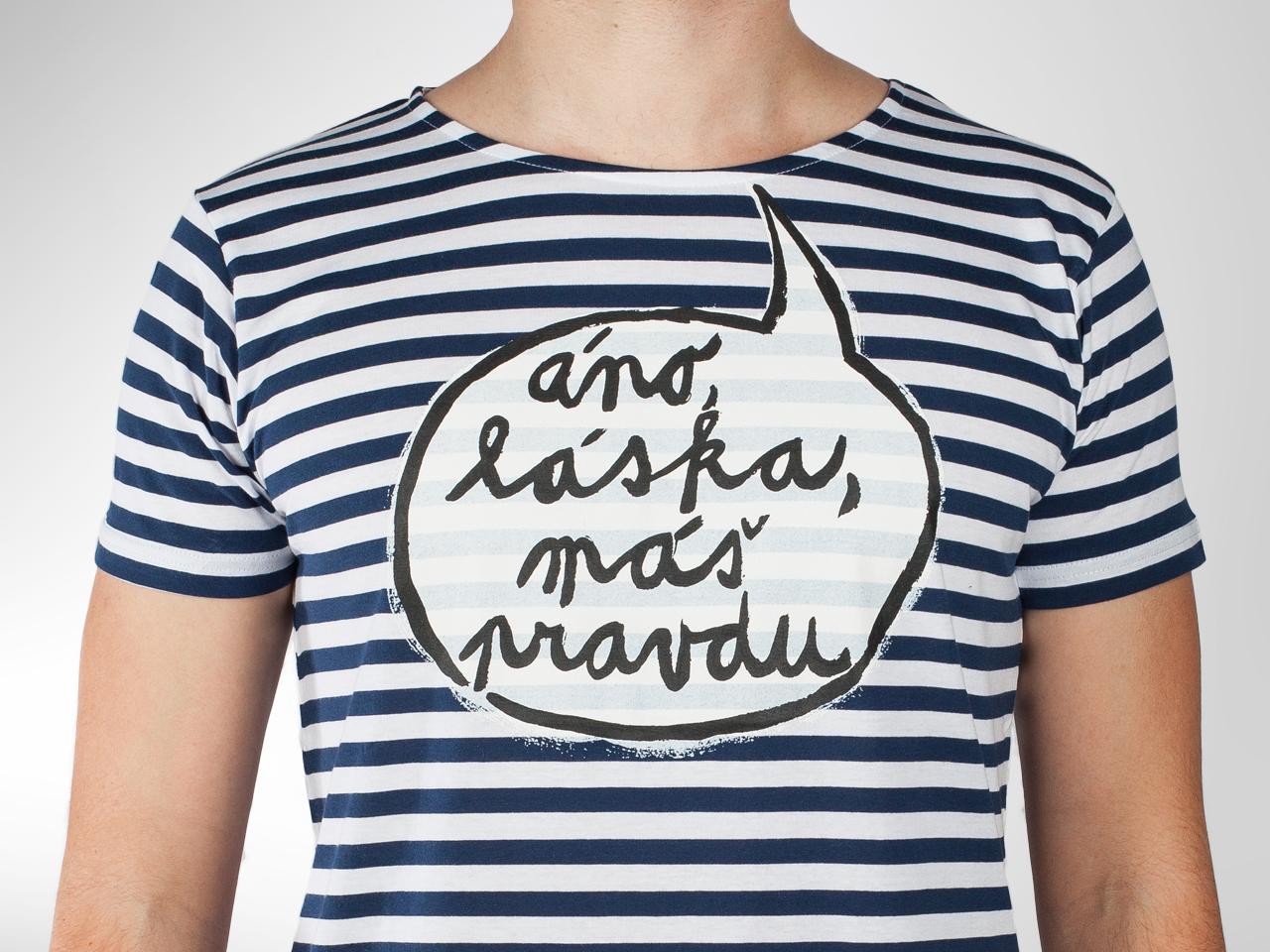 d5670f232 Pánske tričko Máš pravdu pre ideálneho muža značky Koláčová — Kompot.sk