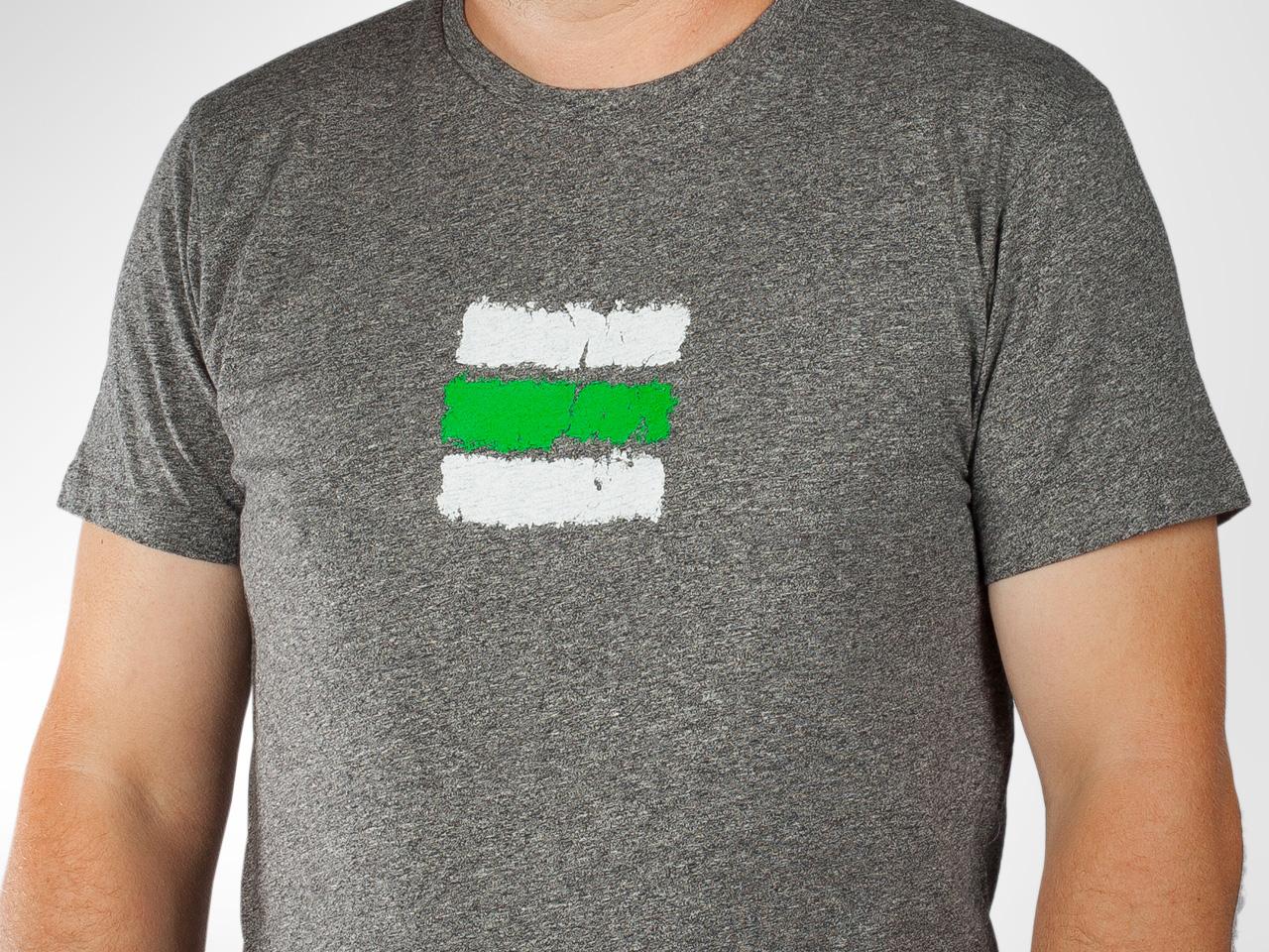 bfba0629a3 Turistické pánske tričko Zelená značka z Kompotu — Kompot.sk