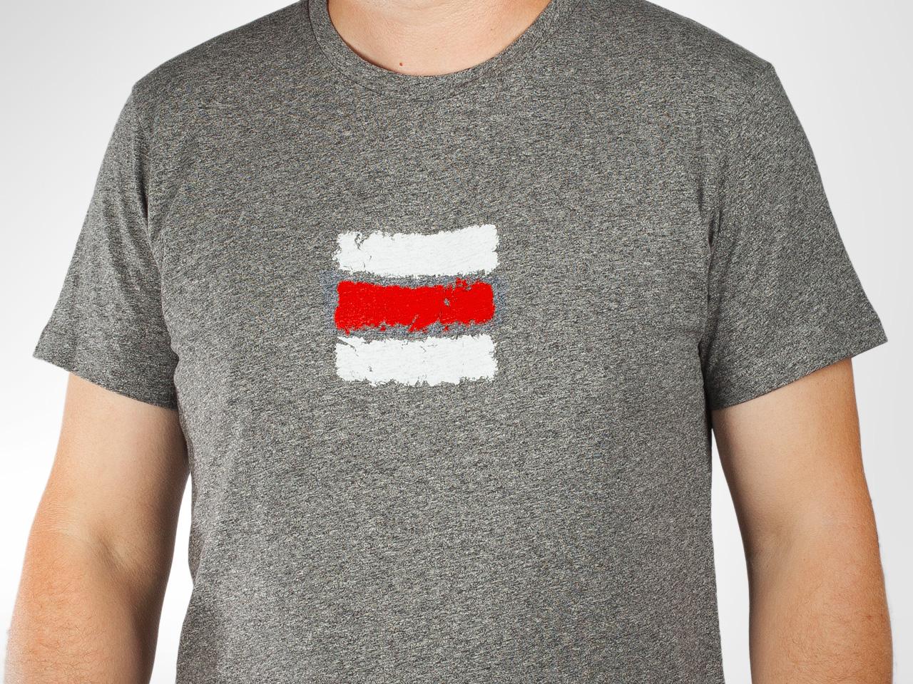 Turistické tričko Červená značka — Kompot aea6c332d4