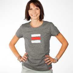 99958dbbf SlovakiaGift · turistické dámske tričko červená značka