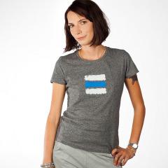 fecf414ae543 ... turistické dámske tričko modrá značka