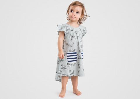 57e732868 Detské šaty Bobo Silver Grey — Kompot.sk
