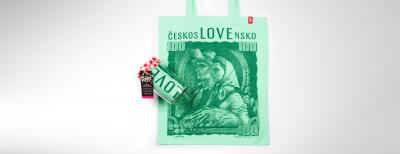 Kombo 100 Kčs (Dámske tričko + Nákupná taška)