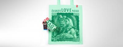 Kombo 100 Kčs (Pánske tričko + Nákupná taška)