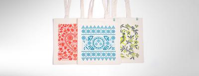 Kombo - Krémové nákupné tašky