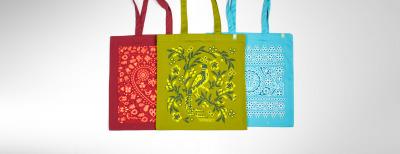Kombo - Farebné nákupné tašky