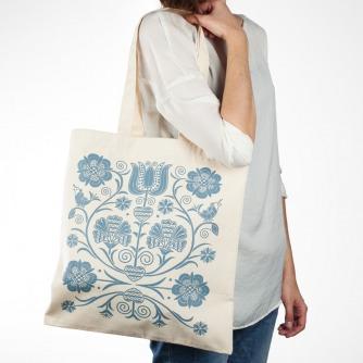 Nákupná taška Zvončeky (Creme)
