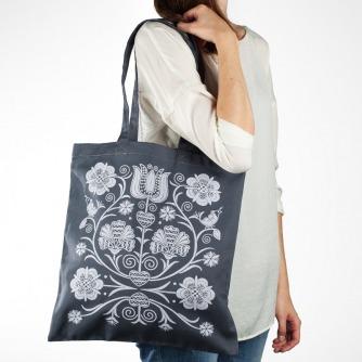Nákupná taška Zvončeky (Grey)