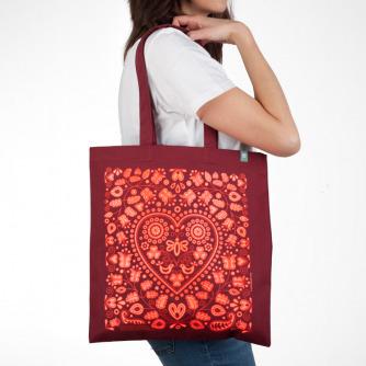 Nákupná taška Bzovík (Burgundy)