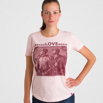 Tričko ČeskosLOVEnsko 50 Kčs (Girl)