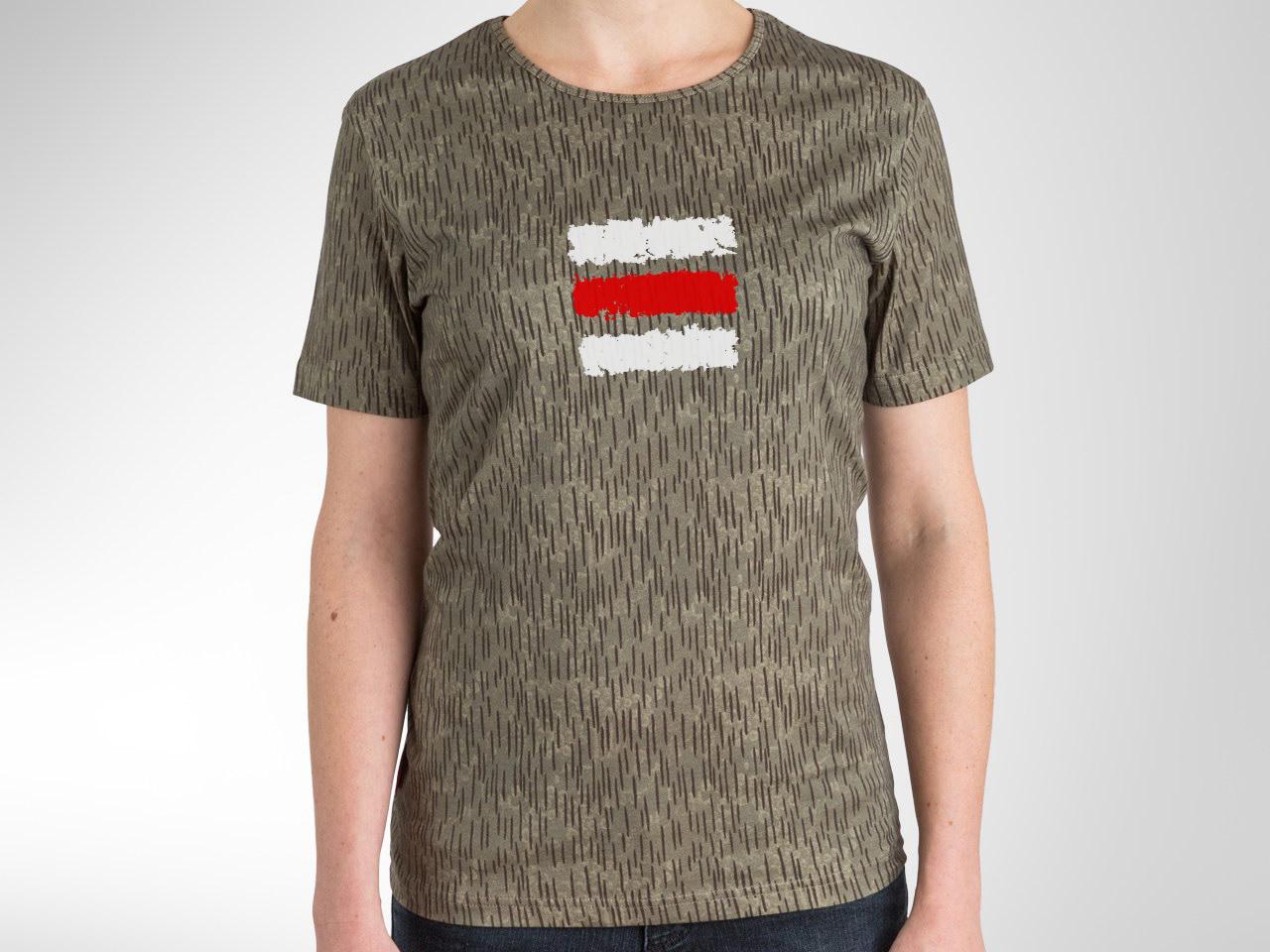 1bfd97b5326c Tričko Červená značka KAMO (Unisex) — Kompot.sk